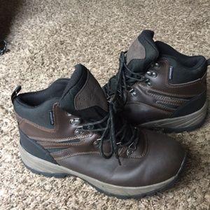 Men'S Brown Eddie Bauer Work Boots